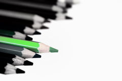 Green pencil Royalty Free Stock Photos