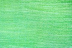 Green pencil drawings. On white paper background texture royalty free stock photography