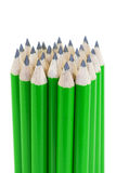Green pencils Royalty Free Stock Photography