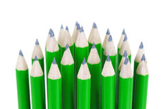Green pencils Royalty Free Stock Image