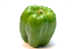 Green pepper. Isolated green pepper Royalty Free Stock Photos