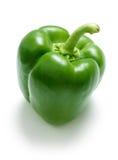 Green pepper. On a white bg Royalty Free Stock Photo