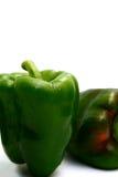 Green Pepper. Isolated photos og fresh green pepper royalty free stock image