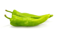 green pepper Royaltyfria Bilder