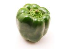 Green pepper. On white background stock image