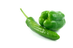 Green pepper. Some of the delicious fresh green pepper Stock Photo