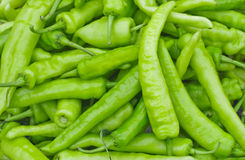 Green pepper background. Green pepper for your background Stock Photo