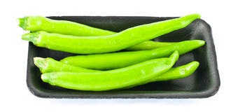Green pepper isolated Stock Photo