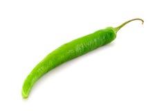 Green pepper. Ripe green pepper in thailand Stock Photo