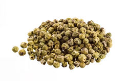 Green peppercorns Royalty Free Stock Photo