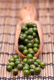 Green peppercorns Royalty Free Stock Images