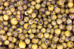 Green Peppercorns Close View Stock Photo