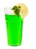 Green peppermint cocktail Royalty Free Stock Photography