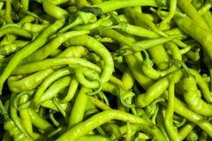 Green Pepperoni Royalty Free Stock Image