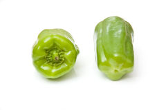 Green peppers Stock Photography