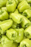 Green peppers(background) Stock Photo