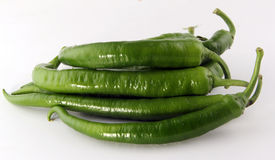 Green peppers. Concept and Decoration royalty free stock photos