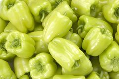 Green peppers(horizontal) Stock Image