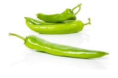 Green peppers Royalty Free Stock Image