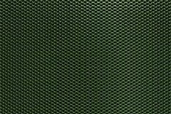 Green Perforated Metal Background Royalty Free Stock Photography