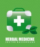 Green pharmacy design Stock Photography