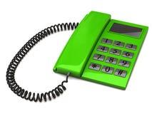 Green phone Stock Photos