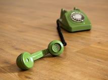 Green Phone Stock Image