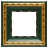 Green photo frame Stock Photo