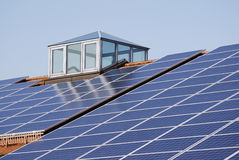 Green Photovoltaic Energy Stock Image