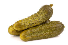 Green pickles Royalty Free Stock Image