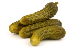 Green pickles Stock Photography