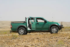Green Pickup Truck Stock Images
