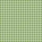 Green picnic checkered tablecloth. Vector illustration of green picnic checkered tablecloth Royalty Free Stock Photos