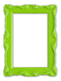 Green picture frame Royalty Free Stock Photography