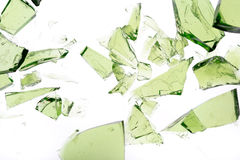 Green pieces Stock Photo