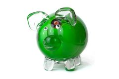 Green pig Stock Images
