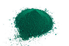 Green pigments Royalty Free Stock Photo