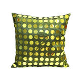 Green pillow Royalty Free Stock Images
