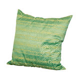 Green pillow Royalty Free Stock Photo