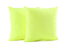 Green pillow Stock Images