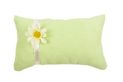 Green pillow Royalty Free Stock Photos