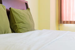 Green pillows Royalty Free Stock Photography
