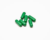 Green pills Royalty Free Stock Photo