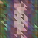 Green pink brown triangle and square geometric shapes background Royalty Free Stock Images