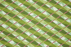 Green, Pink Computer Generated Abstract Geometric Pattern Royalty Free Stock Image