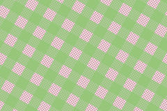 Green and Pink Computer Generated Abstract Plaid Pattern Stock Images