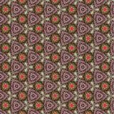 Green Pink Kaleidoscope Paper Pattern Royalty Free Stock Images