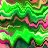 Green & Pink Marble Abstract. Bright green and pink abstract marble background design Royalty Free Stock Photo