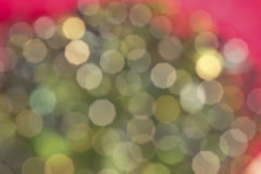 Green and Pink Party Bokeh Background Royalty Free Stock Photo