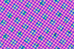 Green, Pink, Purple Computer Generated Abstract Geometric Patter Royalty Free Stock Photography